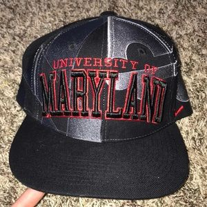 University of Maryland Flat rimmed baseball hat